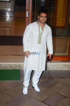 Sanjay Dutt Diwali Party At His Home