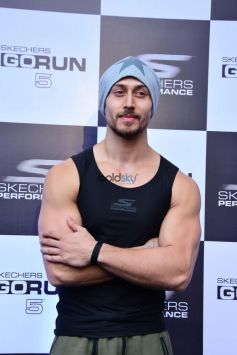 Skechers Running Shoes Launch By Tiger Shroff