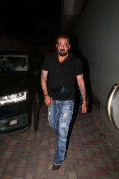 Sanjay Dutt Snapped At Vishesh Films Office