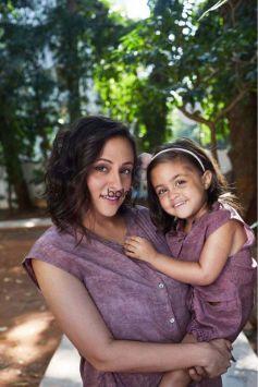 Avantika Malik Khan And Imara Malik Khan Photoshoot For Pause Fashion