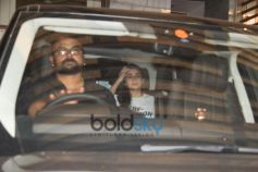 Alia Bhatt, Ranbir Kapoor Spotted At A Zoya Akhtar House Bandra