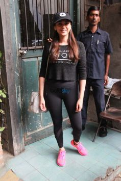 Aditi Rao Hydari Snapped At Pali Village Cafe Bandra