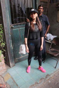Aditi Rao Hydari Snapped At Pali Village Cafe Bandra