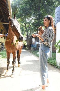 Athiya Shetty Visits The Bombay Society For The Prevention Of Cruelty To Animals