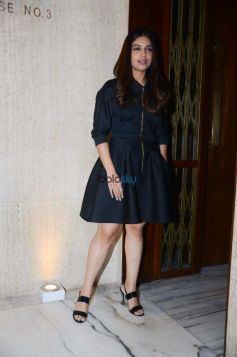 Bhumi Pednekar Spotted At Manish Malhotra House