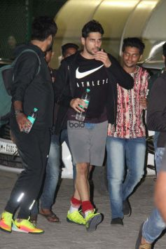 Celebs Practice Football Match At Bandra