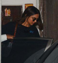 Deepika Padukone At Kavi's Nail Care