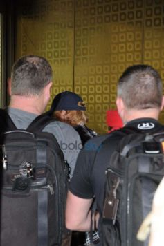 Ed Sheeran And Others Celebs Spotted At Airport