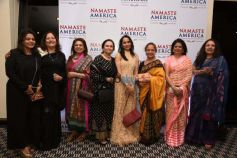 Esha Gupta At The Press Conference Of Namaste America