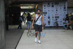 Farhan Akhtar Spotted At Bandra