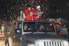 Fukrey Returns Team GRAND Entry At 'Mehbooba Song' Launch