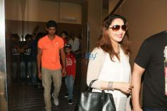 Hrithik Roshan And Madhuri Dixit With Family Spotted At Juhu PVR