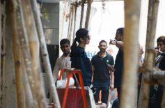 Katrina Kaif Spotted Salon Bandra