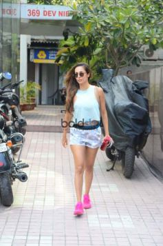 Malaika Arora Khan Spotted At Gym