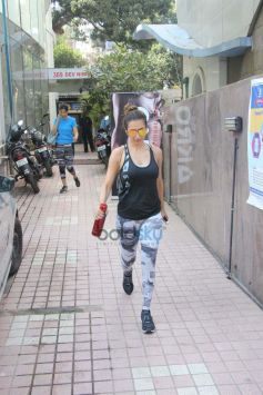 Malaika Arora Khan Spotted At Gym