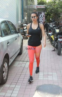 Malaika Arora Spotted At Gym