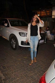 Nidhi Agarwal Spotted At Bandra