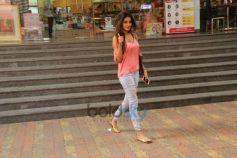 Nidhi Agarwal Spotted At Coffee Shop Bandra
