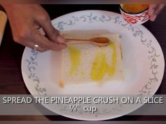 Pineapple Fantasy Recipe How To Prepare Pineapple Delicacy At Home