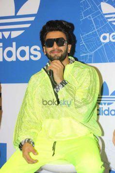 Ranveer Singh At Adidas Store Launch