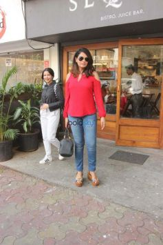 Richa Chadda At Sequel In Bandra