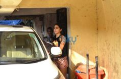 Sara Ali Khan Snapped At Gym