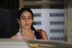 Sara Ali Khan Spotted Gym