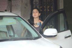 Sara Ali Khan Spotted At Gym