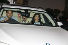 Shah Rukh Khan With Family Snapped At Airport