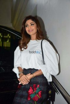 Shilpa Shetty At The Announcement Of The Mumbai Fest 2017