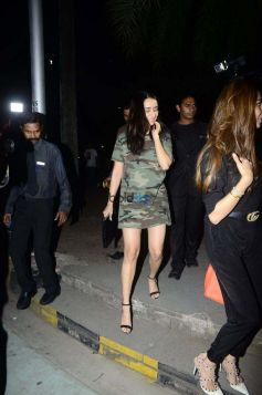 Shraddha Kapoor And Aditya Roy Kapur Spotted At BKC Bandra