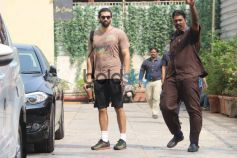 Sooraj And Aditya Roy Kapoor Spotted At The Gym