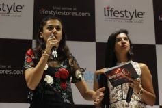 Taapsee Pannu At The Inauguration Of A New Lifestyle Store In Bengaluru