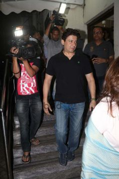 Varun Dhawan And Madhuri Dixit With Family Spotted At PVR Juhu