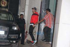 Varun Dhawan Spotted At Gym