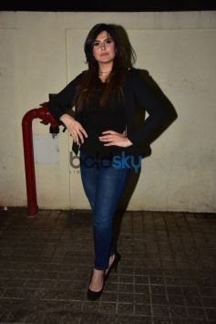 Zareen Khan At The Screening Of Aksar 2