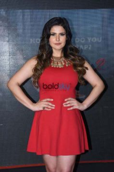 Zarine Khan For 'Aksar 2' Movie Launching