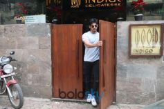 Aahan Shetty Spotted At Indigo Bandra