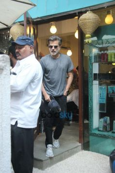 Anil Kapoor Spotted At B Blunt Salon In Bandra