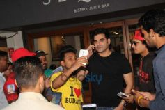 Arbaaz Khan With A Friend At Bandra