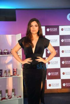 Bhumi Pednekar At Launch Of Skin Products By Divine Organics, In New Delhi