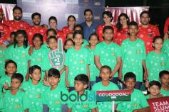 Dino Morea, Mandana Karimi, Shibani Dandekar & Others At Football Match Slum Soccer vs Roots