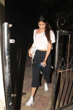 Disha Patani Spotted At Satyam Dance Hall In Juhu