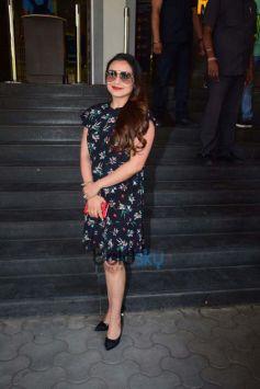 Film 'Hichki' Trailer Launch At PVR Mumbai