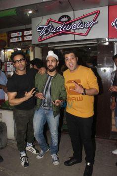 Fukrey Star Cast Spotted At Janta Bar Bandra