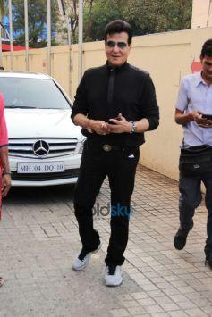 Jeetendra And Rakesh Roshan Snapped At Juhu PVR