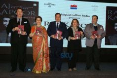 Kapoor Family And Nada Family At book Launch The Last One And Only Showman Book Launch By Ritu Nanda