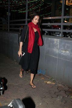 Malaika Arora Spotted With Son At Bandra