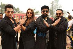Neha Dhupia, Prince Narula , Ranvijay Singh And Nikhil Chinapa At Auditions Of Roadies Xtreme