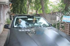 Ranveer Singh And Alia Bhatt Spotted At Excel Office Khar